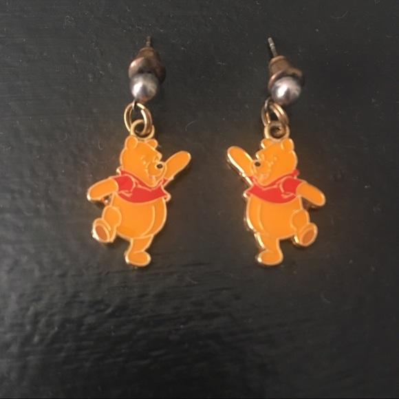 d7d4f8b036053 Disney Winnie the Pooh Dangle Earrings